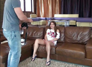 Audition porno video, Romanian..