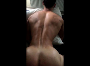 Muscular boy homo rectal poked from..