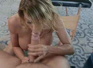 Warm Cougar Alexis  romped after sole..