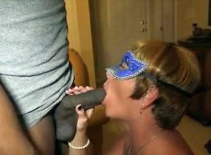 Cock-starved mature wifey in tights..