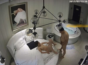 Spy webcam in motel apartment recorded..