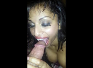 Toasted Latina  making a fellow jizz..