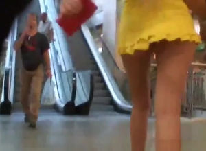 Adorable upskirt vid peculiarly when..