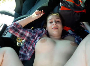 Gf has hookup in the back seat