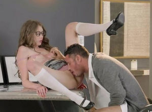 Crazy schoolgirl Elena will nail and..