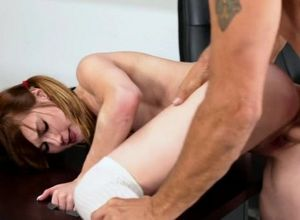 Damsel cockslut gets crevice romped in..