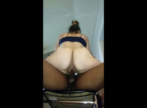 Slutwife dumping fuckbox during..